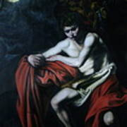St John The Baptist Reproduction Poster