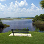 St Johns River In Florida Poster