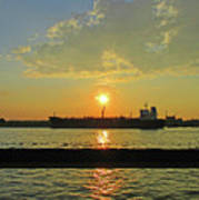 St Lawrence Sunset 3 Poster