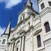 St. Louis Cathedral In The Afternoon Poster