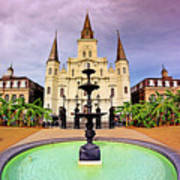 St. Louis Cathedral - New Orleans - Louisiana Poster