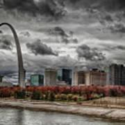 St Louis Riverfront Poster