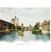 St. Louis World's Fair East Lagoon Poster
