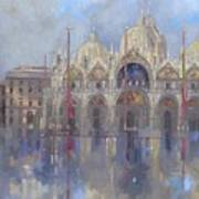 St Mark's -venice Poster by Peter Miller