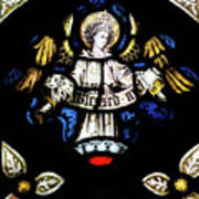 St Mary Redcliffe Stained Glass Close Up H Poster