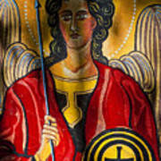 St. Michael  Poster by Robert Ullmann