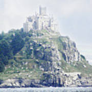 St Michael's Mount Cornwall England Poster