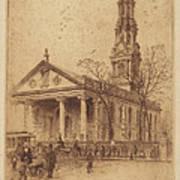 St. Paul's, Broadway, N.y. Poster