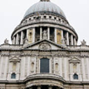 St Pauls Cathedral Closeup Poster