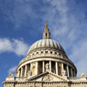 St Pauls Cathedral London England Uk Poster