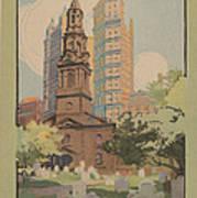 St. Paul's Chapel Poster
