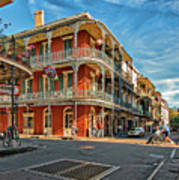 St Peter St New Orleans Poster