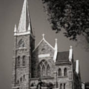 St. Peter's Catholic Chuch Poster by Judi Quelland