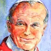 St. Pope Paul John II Poster