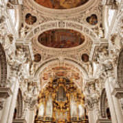 St. Stephen Cathedral Interior Poster