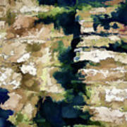 St Thomas - Brick Wall Shadow Poster
