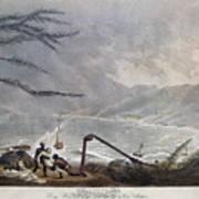 St. Thomas: Hurricane, 1819 Poster