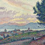 St Tropez Pinewood Poster