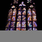 Stain Glass Window Poster