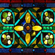 Stained Glass 1 Poster