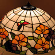 Stained-glass Lampshade Poster by Suhas Tavkar
