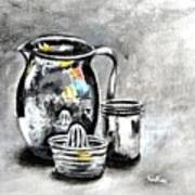 Stainless Steel Still Life Painting Poster