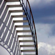 Stairs In The Sky Poster by David April