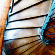 Stairs Paris Poster