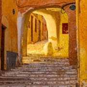 Stairway Inside Beni Isguen Poster