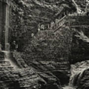 Stairway In The Glen Poster
