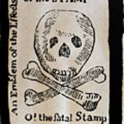 Stamp Act: Cartoon, 1765 Poster by Granger