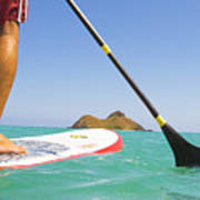 Stand Up Paddling Poster