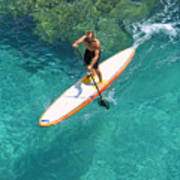 Stand Up Paddling II Poster