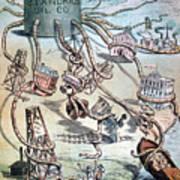 Standard Oil Cartoon Poster