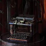 Standard Typewriter Poster by Viktor Savchenko