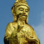 Standing Budda Poster