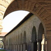 Stanford Memorial Court Arches I Poster
