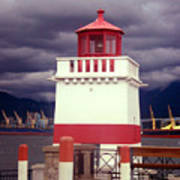 Stanley Park Lighthouse Poster