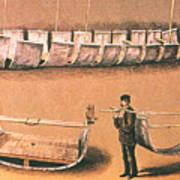 Stanleys Portable Boat Poster