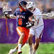Stanwick Lacrosse Poster