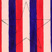 Star And Stripes Poster