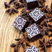 Star Anise Chocolate Poster