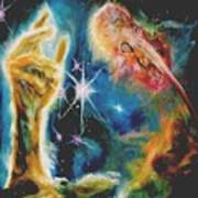 Star Clouds Lighter Version Poster