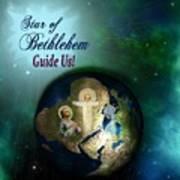 Star Of Bethlehem Poster by Myrna Migala