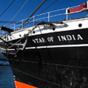 Star Of India Tall Ship San Diego Bay Poster