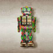Star Strider Robot Psyc Poster