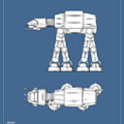 Star Wars - At-at Patent Poster