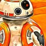 Star Wars Bb-8 - Da Poster