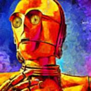 Star Wars C3po Droid Poster