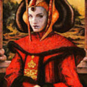 Star Wars Queen Amidala Classical Poster